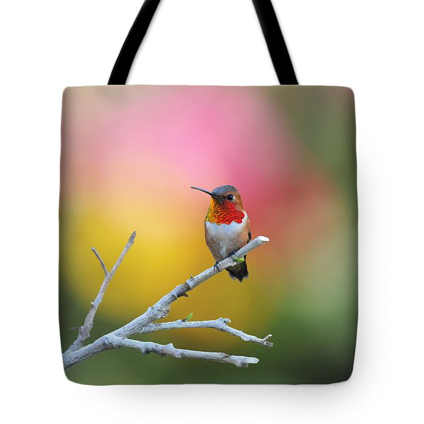 Seeing Red Tote Bag by Lynn Bauer