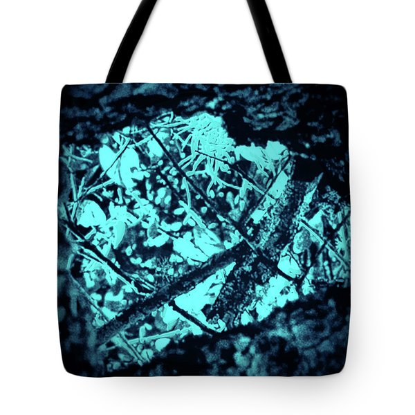 Seeing Through Trees Tote Bag by Gina O'Brien