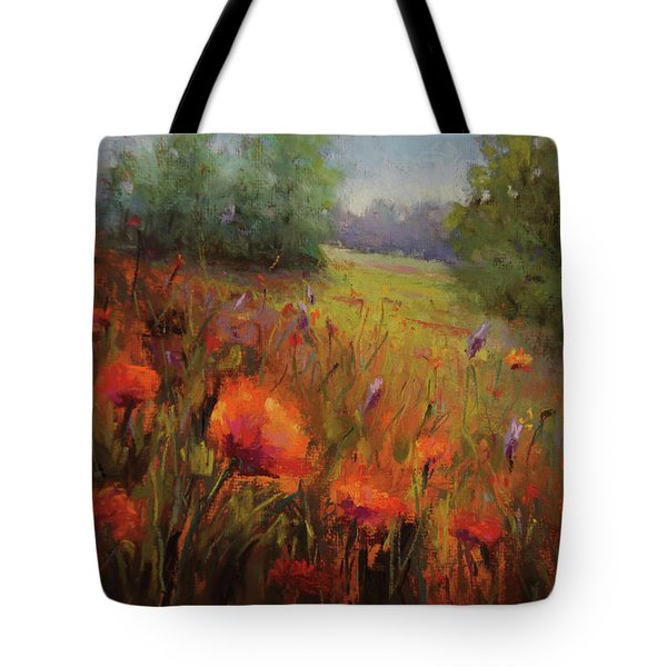 Seeking His Face Tote Bag