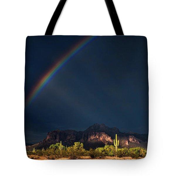 Tote Bag featuring the photograph Seeking That Pot Of Gold  by Saija Lehtonen