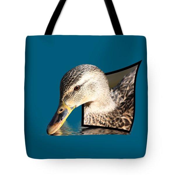 Seeking Water Tote Bag