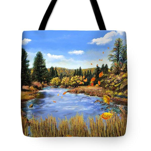 Seeley Montana Fall Tote Bag