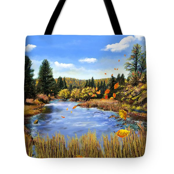 Seeley Montana Fall Tote Bag