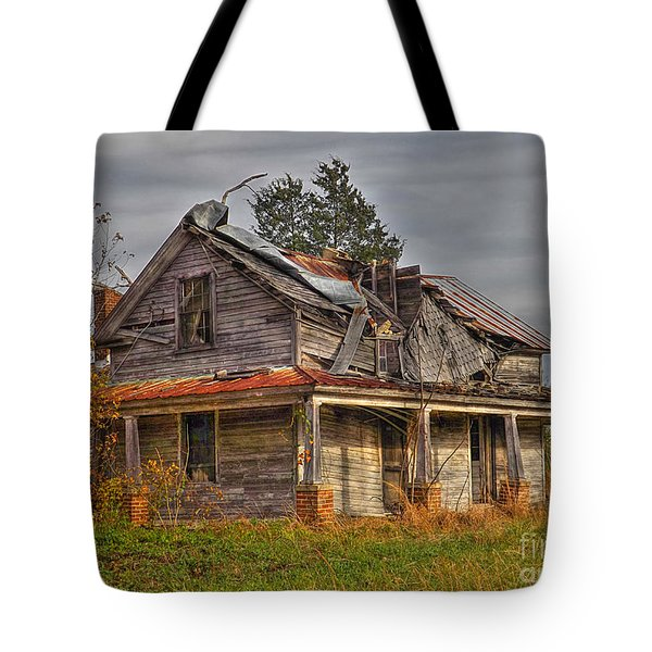 Seen Better Days Tote Bag by Christy Ricafrente
