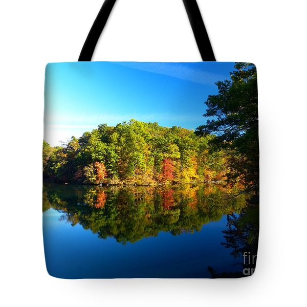 Seen From Kidds Schoolhouse Tote Bag