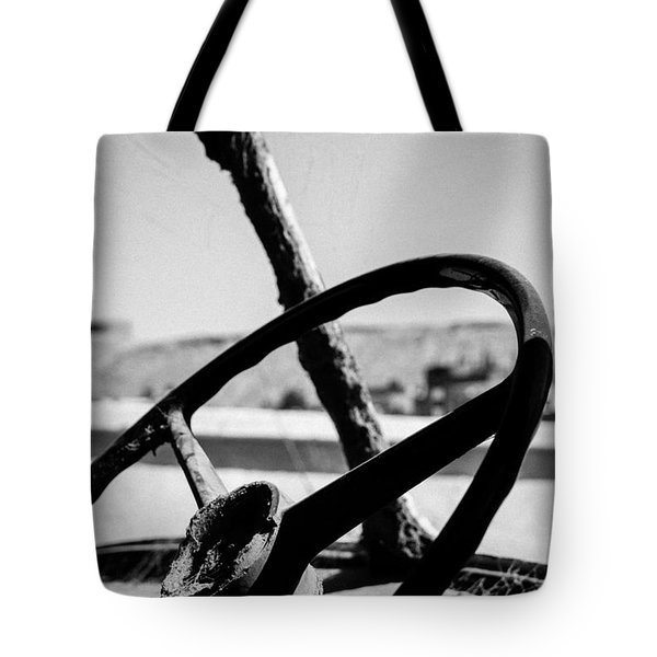 Tote Bag featuring the photograph Seen So Many Roads by Jez C Self