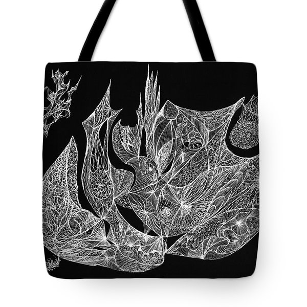 Segmented Tote Bag by Charles Cater
