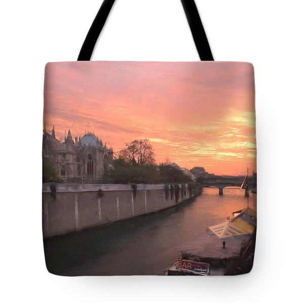 Seine River Tote Bag