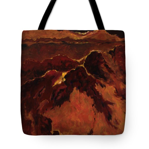 Seismic Shift Tote Bag