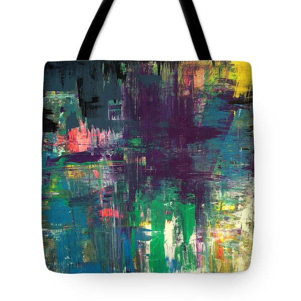 Seize The Day 48x48 Print Abstract Painting Modern Art Original Tote Bag