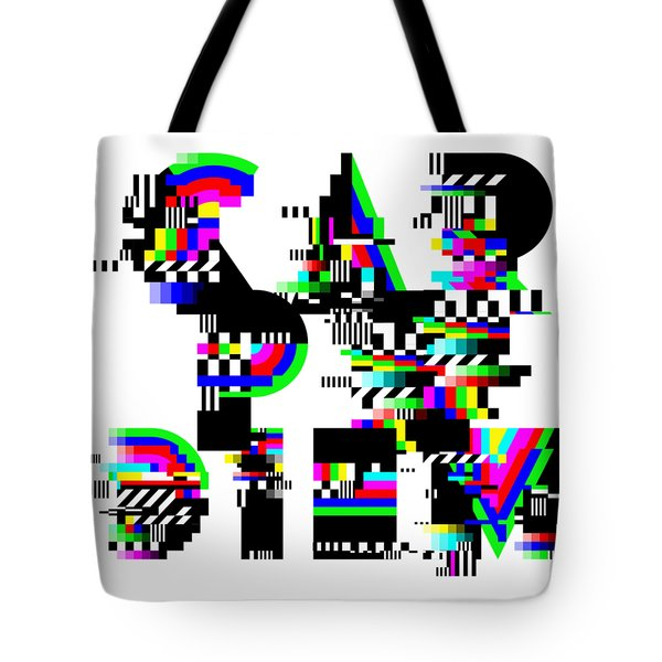 Tote Bag featuring the digital art Seize The Day by Bee-Bee Deigner