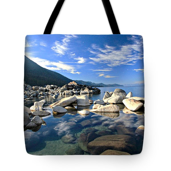 Tote Bag featuring the photograph  Sekani Morning Glory by Sean Sarsfield