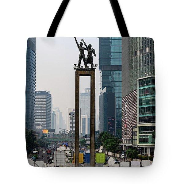 Selamat Datang Monument Tote Bag