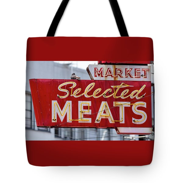 Selected Meats Tote Bag