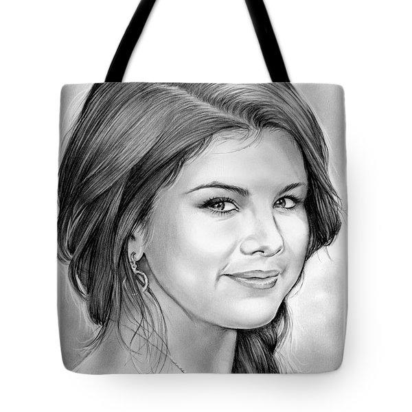 Selena Gomez Tote Bag