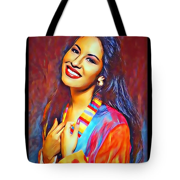 Selena Queen Of Tejano  Tote Bag