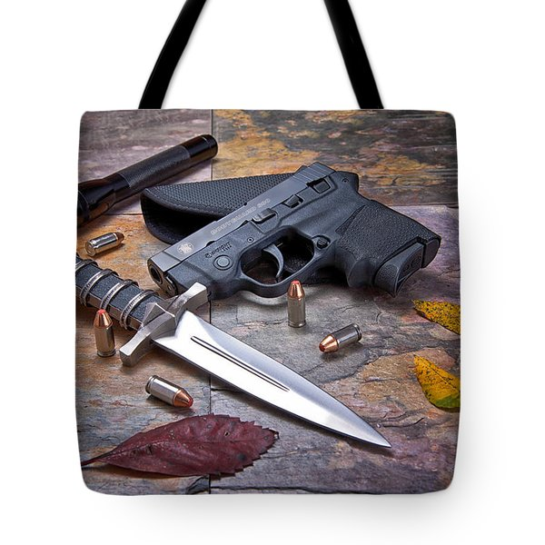 Self Defense Still Life Tote Bag