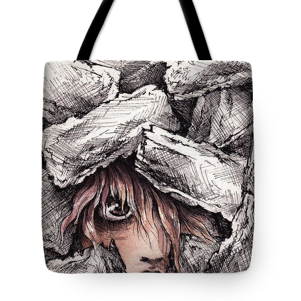 Self Destructive Tote Bag