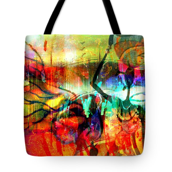 Self Employed Tote Bag by Fania Simon