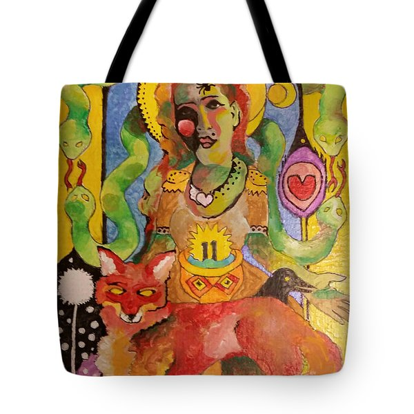 Self Iconography Exploration Tote Bag