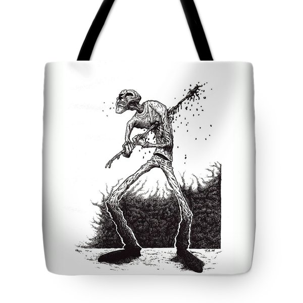Self Inflicted Tote Bag by Tobey Anderson