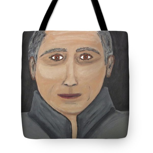 Tote Bag featuring the painting Self by Jeffrey Koss