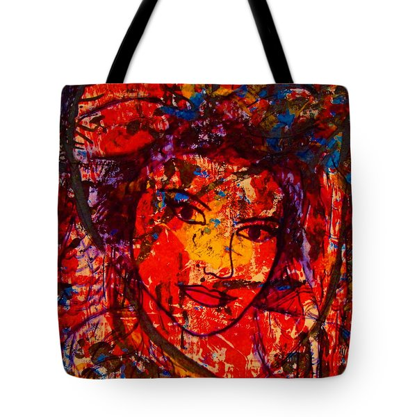 Self-portrait-5 Tote Bag by Natalie Holland