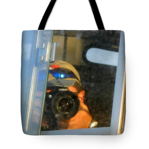 Self Portrait Tote Bag by Anthony Jones