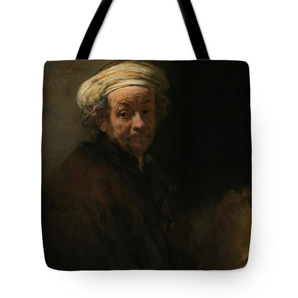 Self-portrait As The Apostle Paul Tote Bag