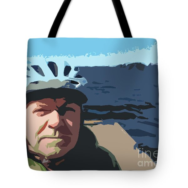 Tote Bag featuring the photograph Self Portrait by Bill Thomson