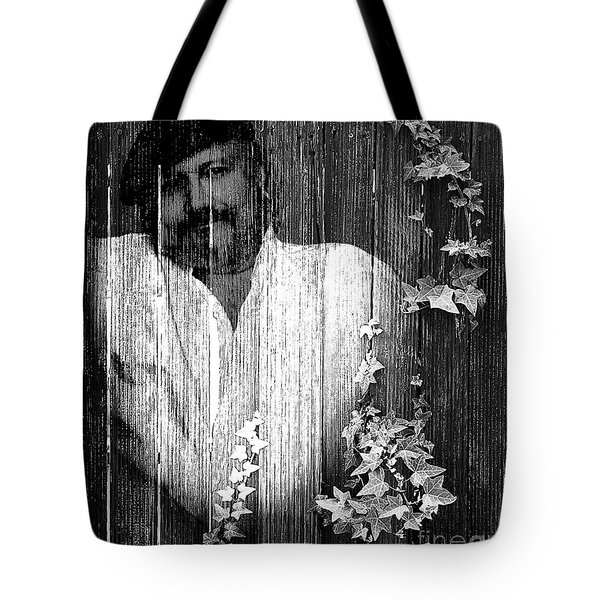 Self Portrait Tote Bag by Clayton Bruster