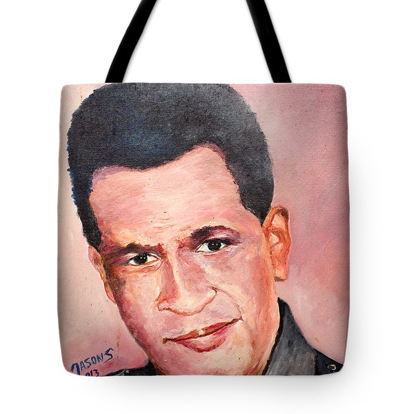 Self Portrait Of Me Tote Bag
