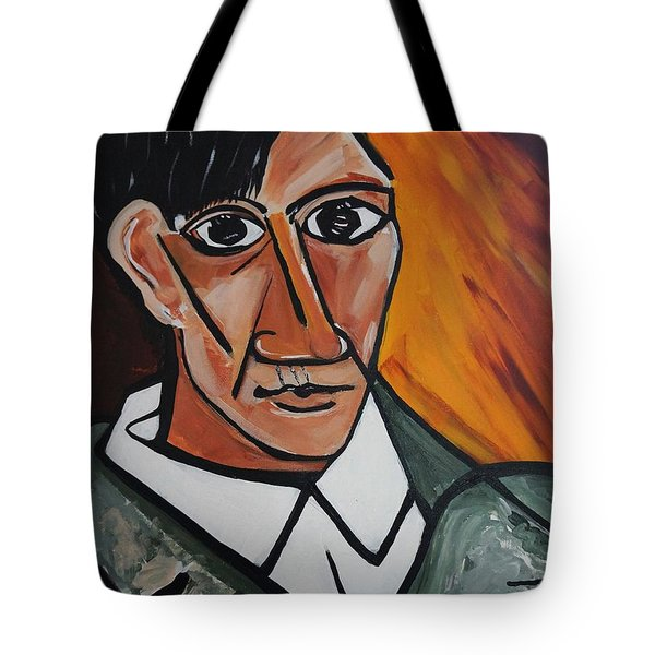 Self Portrait Of Picasso Tote Bag