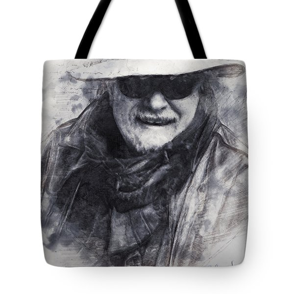 Self-portrait Of The Artist Vivachas Tote Bag