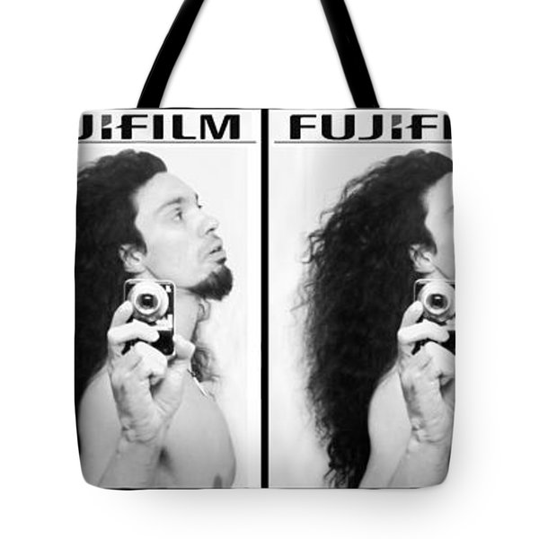 Self Portrait Progression Of Self Deception Tote Bag