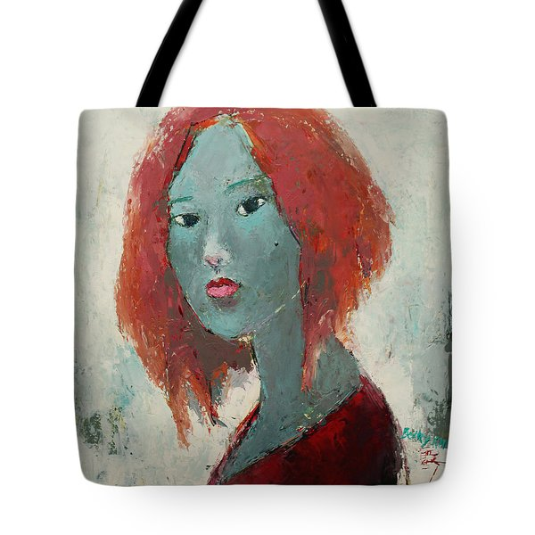 Self Portrait 1502 Tote Bag by Becky Kim