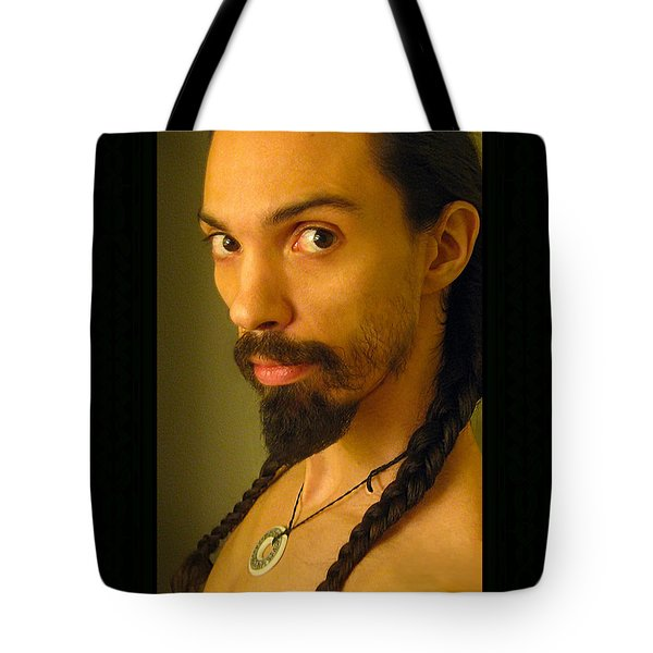 Self Portrait The Native Within Me Tote Bag