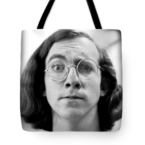 Self-portrait, With Raised Eyebrow, 1972 Tote Bag
