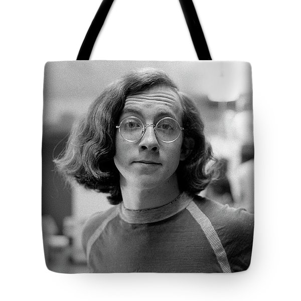 Self-portrait, With Raised Eyebrow, 1972, Number 2 Tote Bag