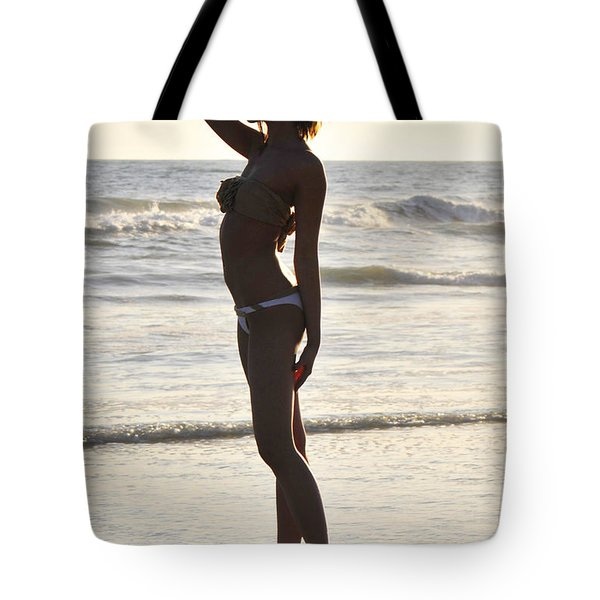 Self Reflecting Tote Bag