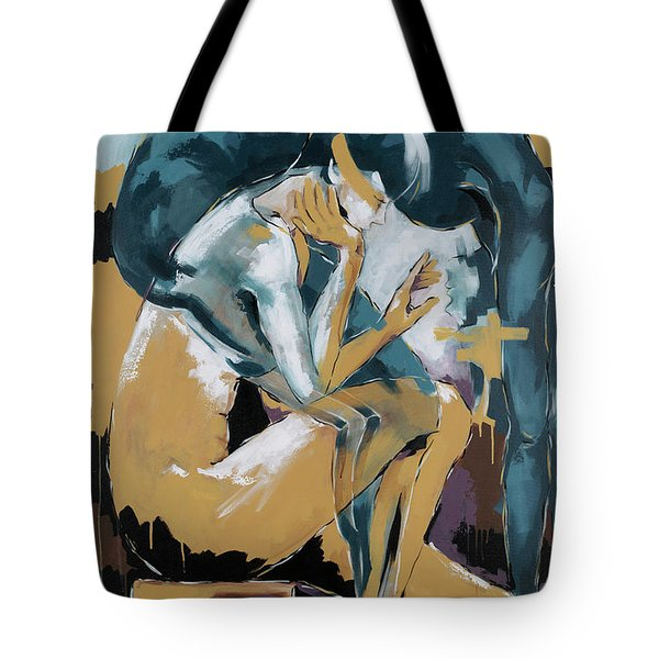 Self Reflection - Of A Dancer Tote Bag