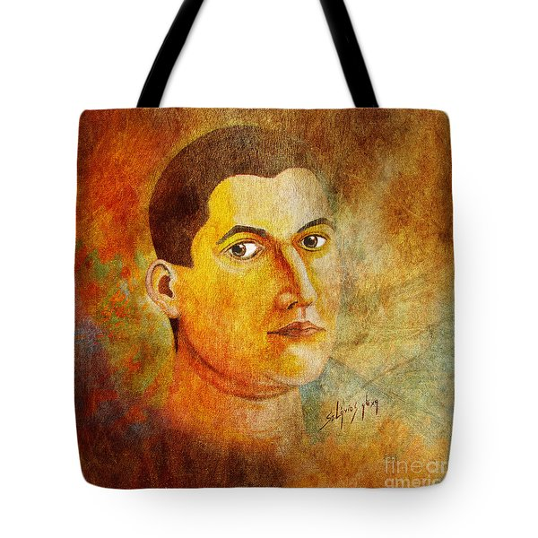 Selfportrait Oil Tote Bag