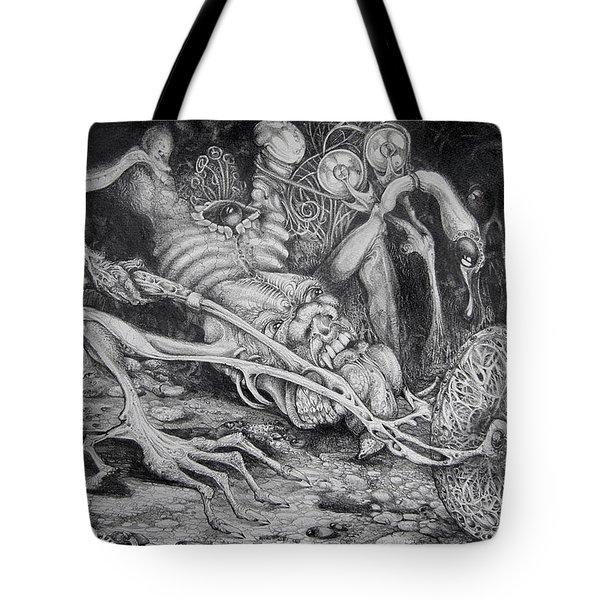 Selfpropelled Beastie Seeder Tote Bag