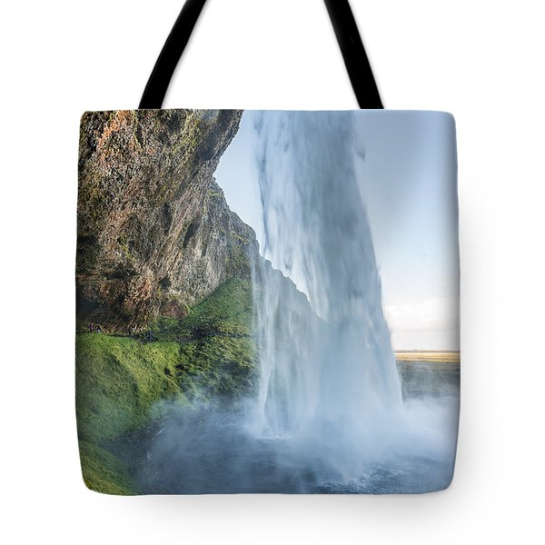 Tote Bag featuring the photograph Seljalandsfoss by James Billings
