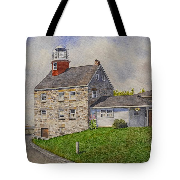 Selkirk Lighthouse Tote Bag