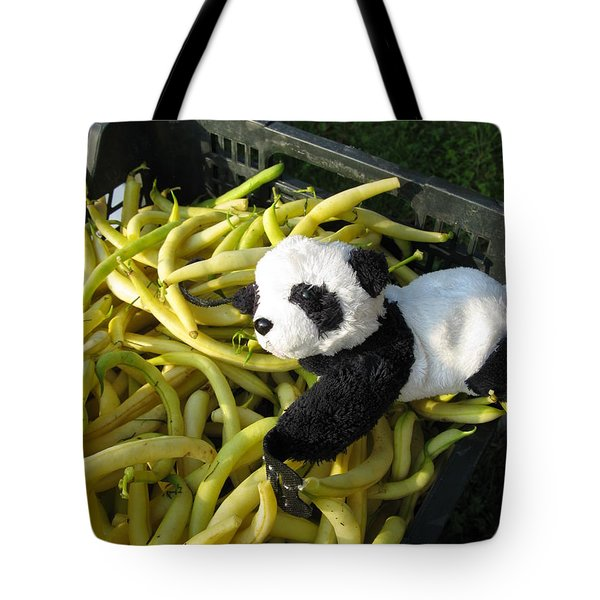 Tote Bag featuring the photograph Selling Beans by Ausra Huntington nee Paulauskaite