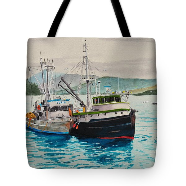 Selling Fish To Peter Pan Tote Bag