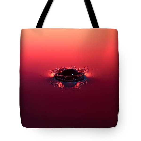 Semi Submerged Droplet Tote Bag