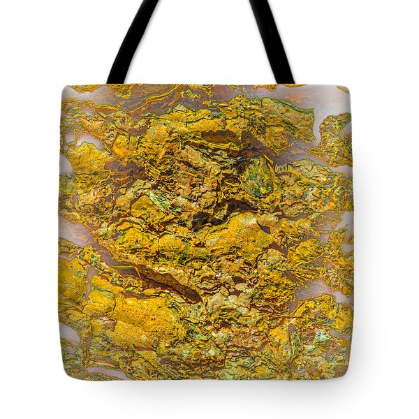 Semi Translucent Bark Abstract Tote Bag