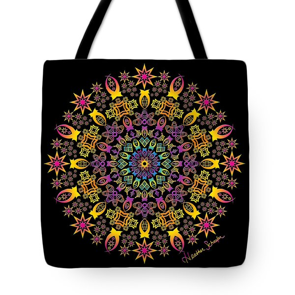 Semi-tribal Rotation Tote Bag
